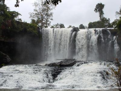 Bou Sraa waterfall in Mondukiri