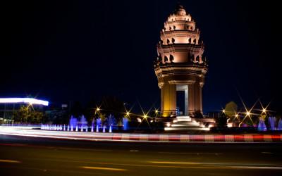 Independence Monument Phnom Penh City
