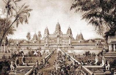 Khmer Empire in Cambodia