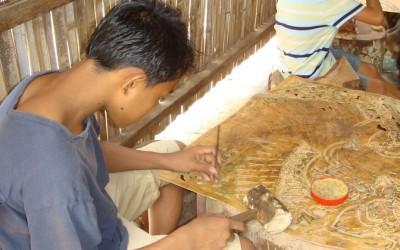 Koh Chen silversmith village
