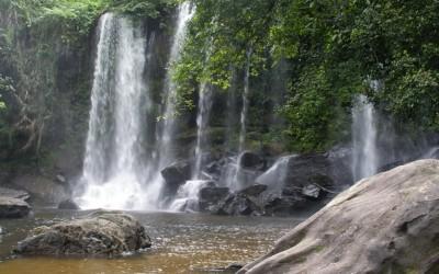 Kulen waterfall Siemreap