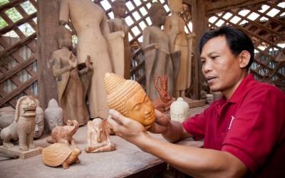 Les Artisans d'Angkor in Siemreap