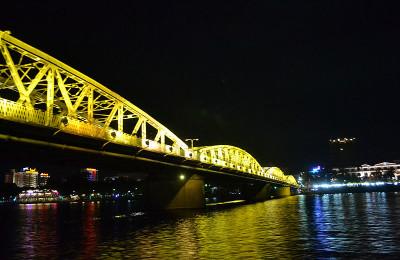 Truong tien bridge in Hue, Vietnam